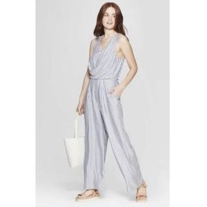A New Day Striped Jumpsuit